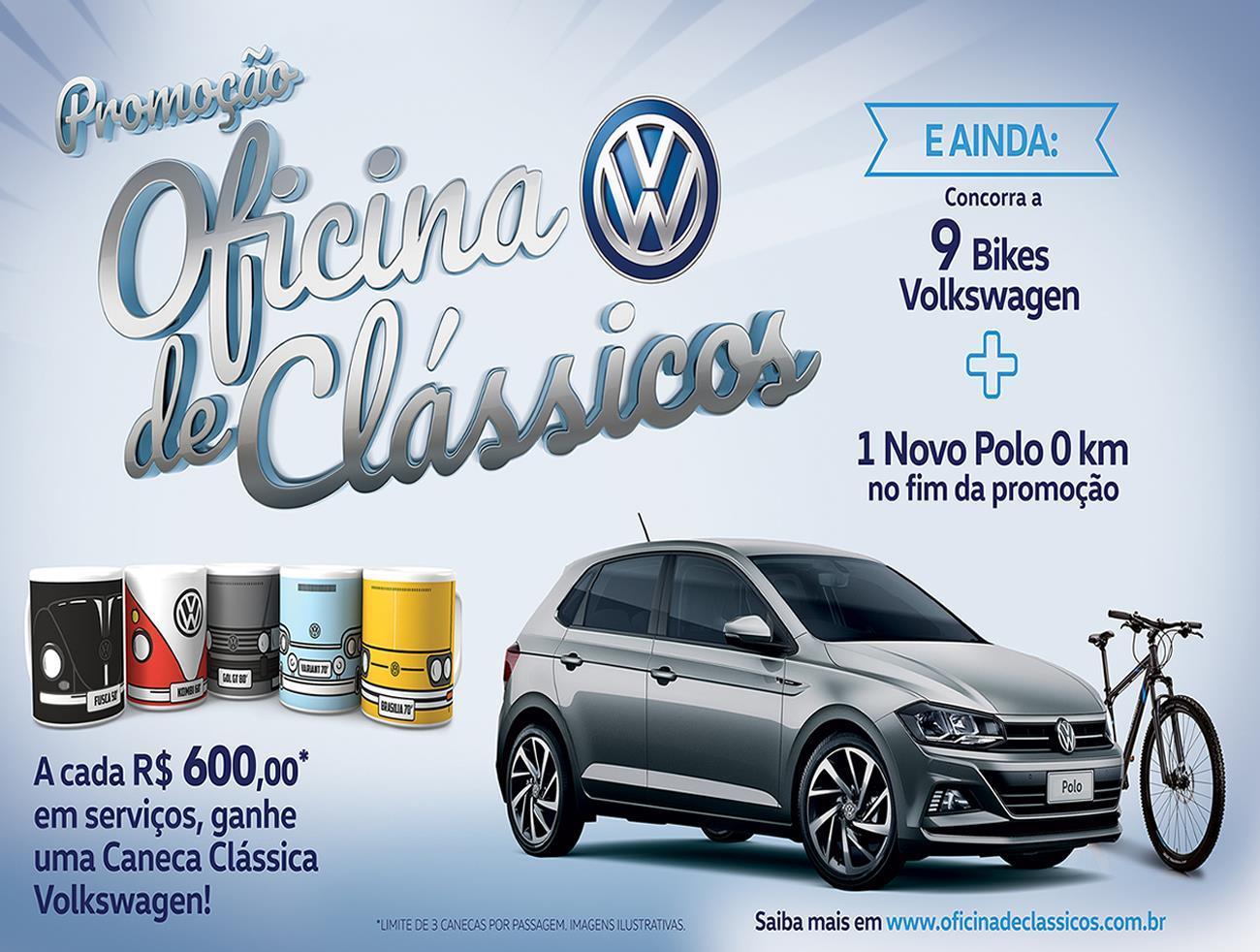A Volkswagen acaba de lançar a promoção Oficina de Clássicos. Com criação  da Bullet 32bea89307bb0
